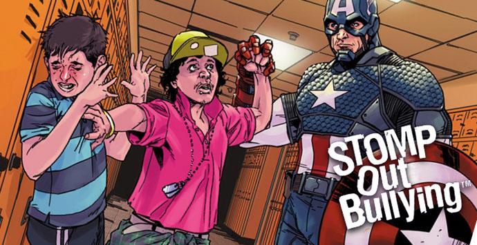 Οι υπερήρωες της marvel κατά του bullying! τα