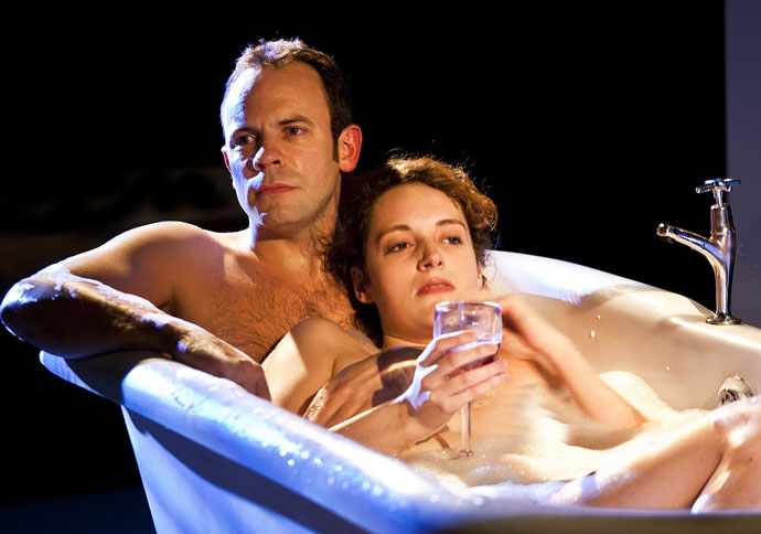 Keir Charles and Phoebe Waller-Bridge in Mydidae, Soho Theatre, 5 December 2012 (courtesy of Simon Annand) 5