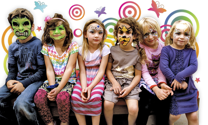 kids_faces_painted