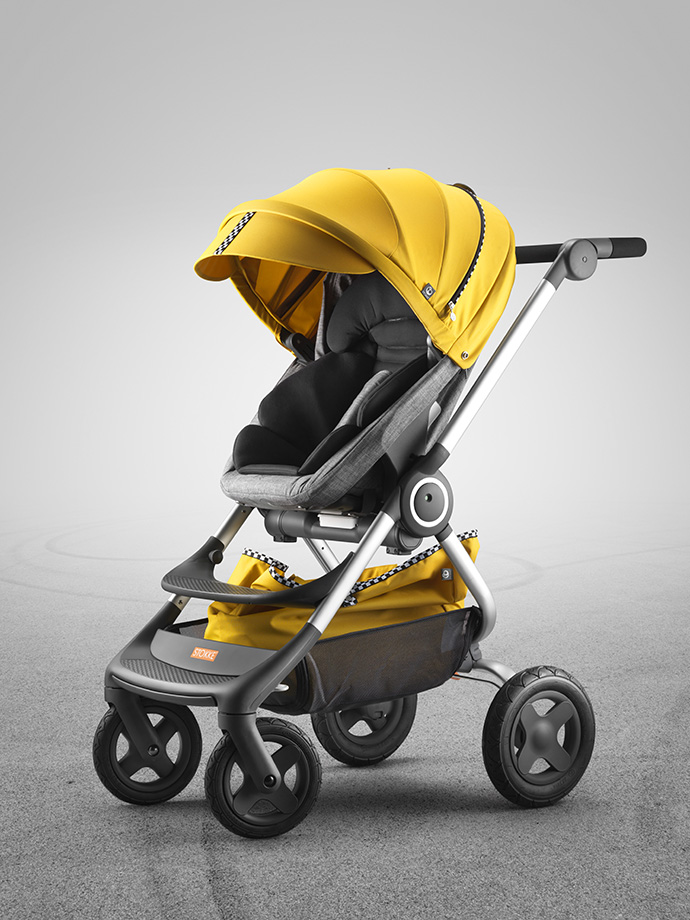 Stokke Scoot Style Kit Racing Yellow 01