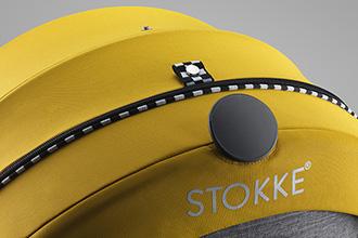 Stokke Scoot Style Kit Racing Yellow 10-sm