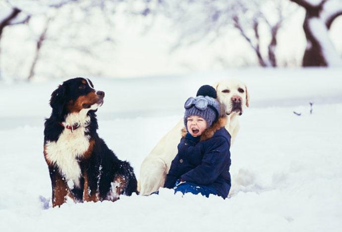Πώς ντύνουμε ένα παιδί όταν κάνει κρύο