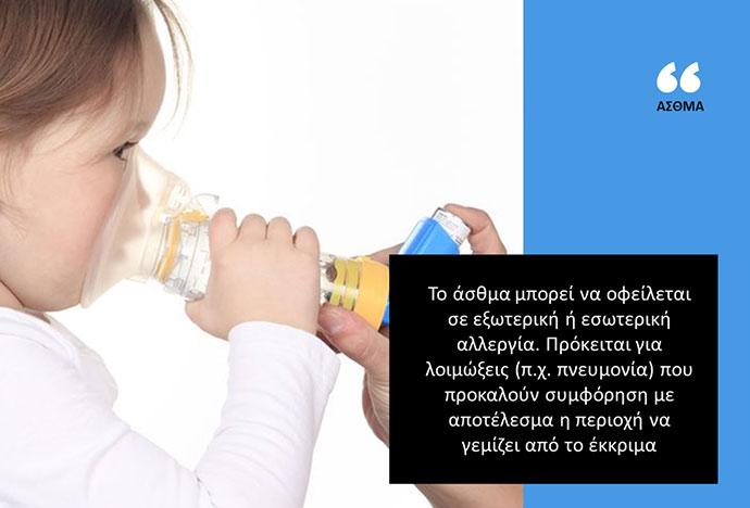 Πώς είναι η καθημερινότητα για το ασθματικό παιδί
